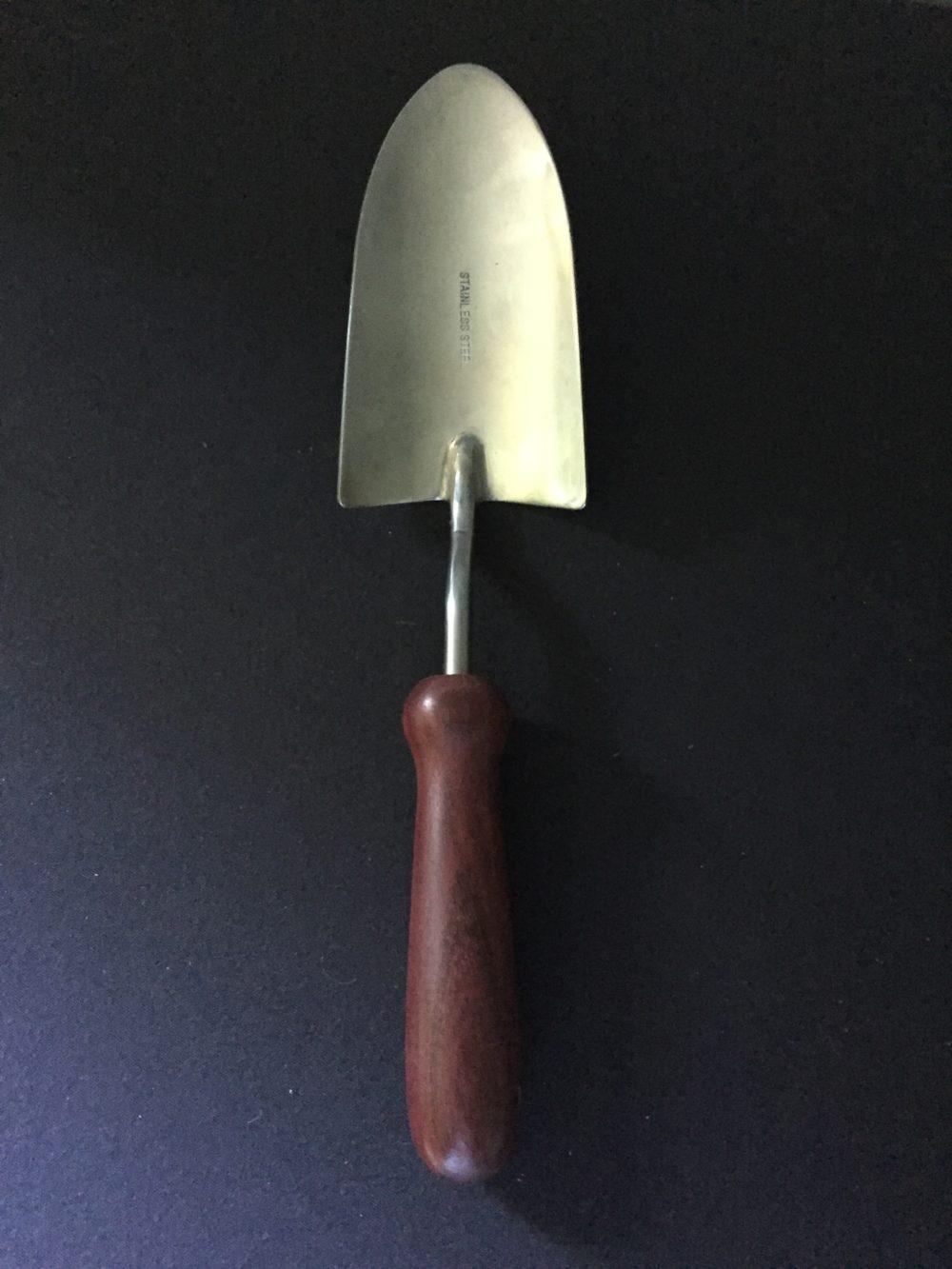 wood handle garden tool