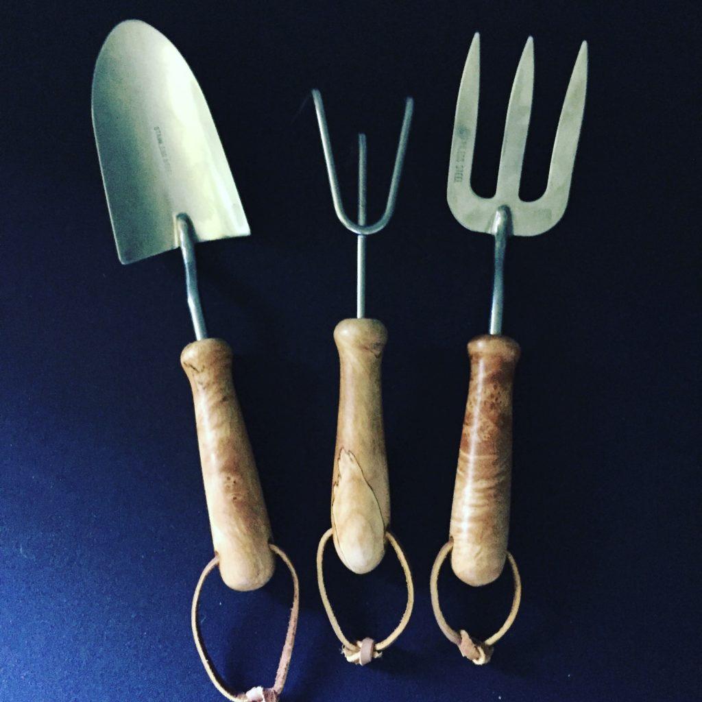 garden tool trio